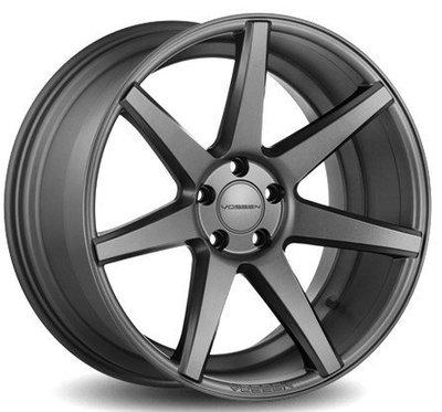全新 正品VOSSEN CV7消光灰5孔120 19吋鋁圈BMW/F02/F07/F10/F11/F14/F30/F36