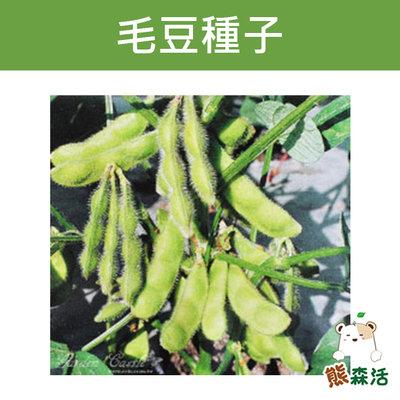 ~全館滿790免運~毛豆~Vegetable Soy Bean~種子-約30粒【熊森活】