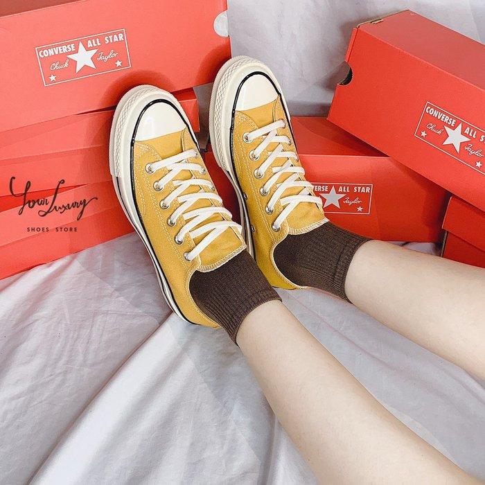 【Luxury】現貨 Converse Chuck 70 芥末黃 芒果色 夏季流行新色 男女鞋 情侶鞋 帆布鞋