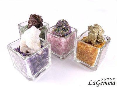 【寶峻晶石】特價250元/個~Druzy 家飾,宇宙光 星彩水晶碎石聚寶盆,招財開運 碎石任選/七款晶簇任選 LG