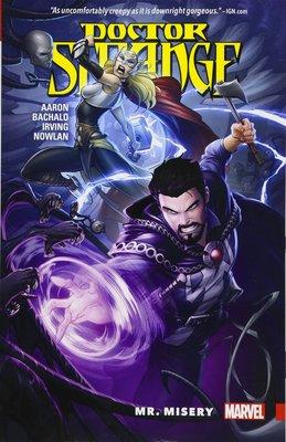《代訂中》[美版書籍]Doctor Strange Vol. 4: Mr. Misery (9781302905873)