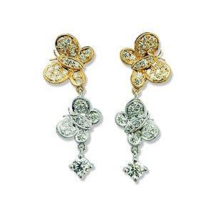 流當品 10分↑高等級天然鑽石 耳環 八心八箭 H&A 售GIA鑽石 綠彩鑽 緬甸A貨