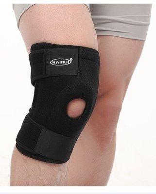 一次發兩只,專業型護膝買一送一 登山 運動護膝 戶外 籃球 護腿 跑步健身 彈簧護具 跑步騎行登山籃球半月板損傷 護具