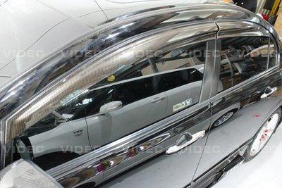 大高雄車精品 HONDA CIVIC 八代 K12 卡夢 CARBON 無限晴雨窗 臺灣製造 可透光 一組4片 高雄市