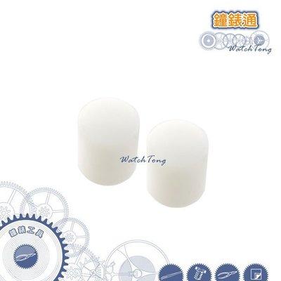 【鐘錶通】05E.1001 膠槌塑膠頭_鐵柄小鐵鎚專用 (單顆售價) ├ 錶帶工具/手錶工具/修錶工具 ┤