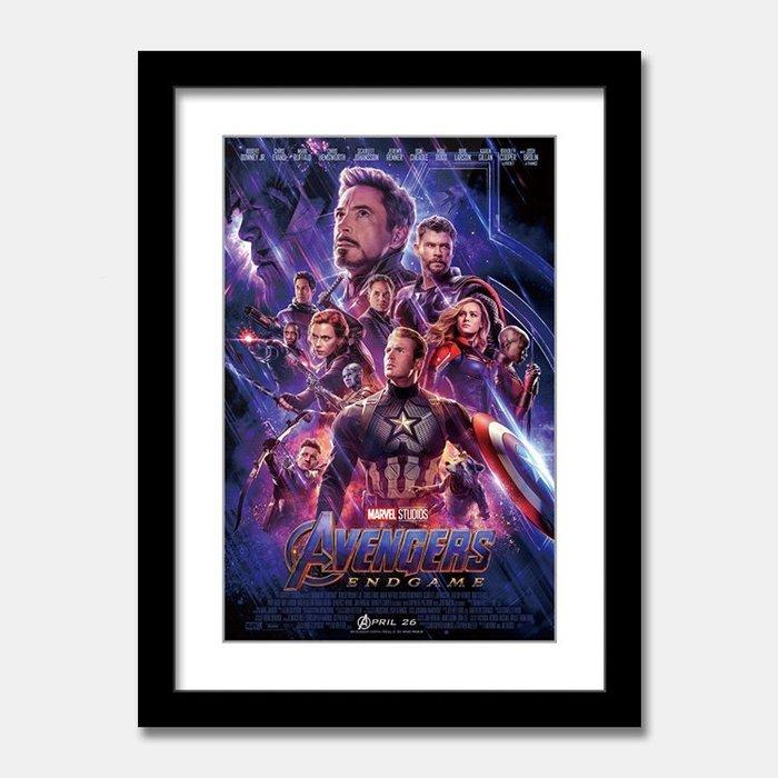 C - R - A - Z - Y - T - O - W - N 復仇者聯盟4:終局之戰 Avengers: Endgame 漫威電影掛畫鋼鐵人美國隊長裝飾畫