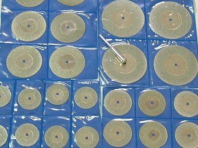 鑽石切片組 15.20.25.30.40.50mm配2支桿子