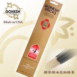 【 超搶手 】美國 GONESH  NO. 4 號 藤蔓果園精油線香 20支 店面愛用