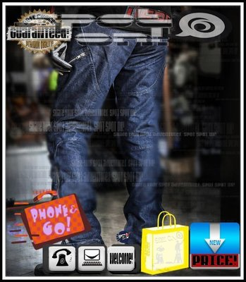 Spot ON - RPMCN R1 牛仔褲 防摔褲.新款CE護具!優惠FUN送! HONDA MONKY KTM RS