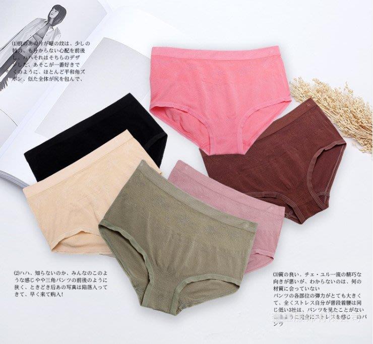 外貿日系莫代爾棉無痕內褲 1151   米蘭風情