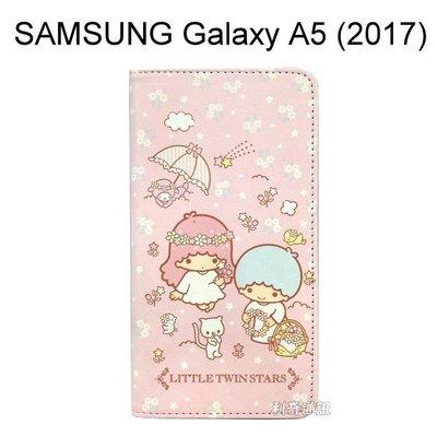 雙子星彩繪皮套 [花籃] SAMSUNG Galaxy A5 (2017) A520F【三麗鷗正版授權】