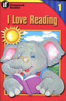 國中英語閱讀與寫作 I Love Reading 1《Homework Booklet》原價105元  【新書 未使用】
