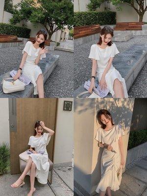【喵星球】 大喜自制 寶藏裙系列 高奢啞光醋酸 氣質SLAY全場 包容性強連衣裙J2L4