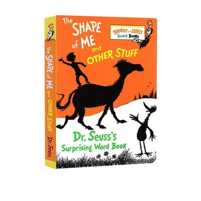 The Shape of Me and Other Stuff 有趣的影子書 Dr Seuss 親子共讀繪本英文紙板書 好再來O