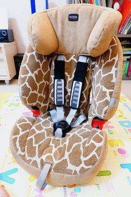 Britax EVOLVA 1-2-3 PLUS 1-12 歲成長型安全座椅(長頸鹿紋)(含運~加送法拉利座椅保護套) 台南市