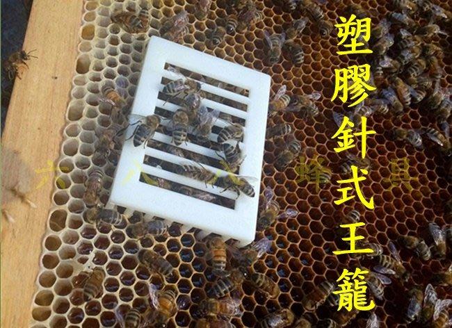 【688蜂具】塑膠針式王籠 關王 禁王籠 囚王籠 工具 現貨 意蜂 中蜂 洋蜂 土蜂 野蜂 養蜂工具 扣王罩 保護罩