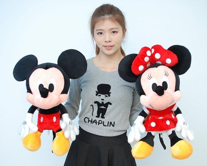 可愛米奇米妮娃娃~正版迪士尼~高50公分~米老鼠玩偶~熱門商品