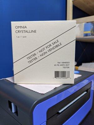 香親香愛~~Bvlgari 天之驕女水晶版淡香水 Omnia crystalline 65ml Tester 晶澈