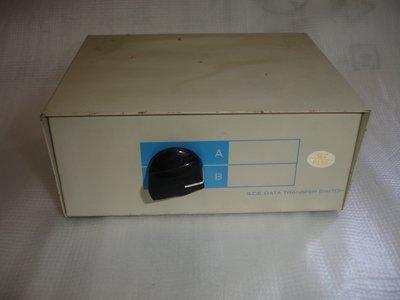 【電腦零件補給站】15Pin VGA/PS2 一對2 螢幕手動切換器