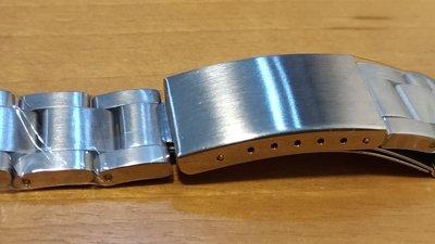 ROLEX 勞力士20mm 代用 水鬼錶 三板 不鏽鋼實心錶帶  實心錶帶超耐用帝舵錶SEIKO 16610 16234 5513 6263 16233