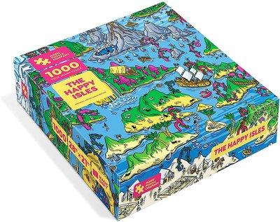 拼圖 现货包顺丰The magic puzzle company纸质拼图全套三款1000片