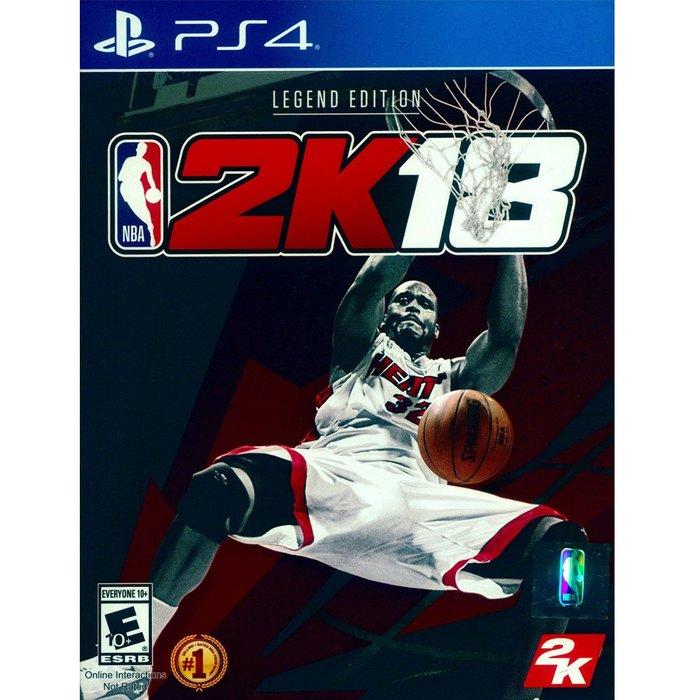 (現貨全新) PS4 勁爆美國職籃 2K18  傳奇珍藏版 中英文美版 NBA 2K18 LEGEND EDITION