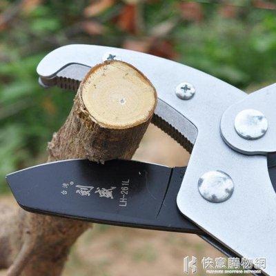 修樹枝剪刀粗枝剪修果樹剪刀省力修剪樹枝剪刀園林剪樹枝大力剪刀 igo