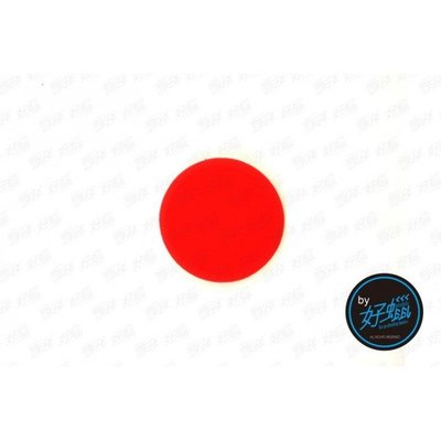 『好蠟』Lake Country 3.5 Inch Beveled Edge RED Pad