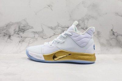 NIKE PG3 NASA 白金 宇航員 時尚 中幫 籃球鞋 CI2667-100 男鞋