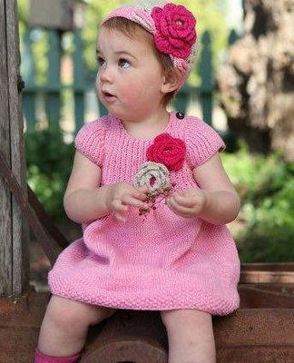 美國RuffleButts Hand Knit Dress嬰幼兒純手工製編織洋裝 ☆現貨☆