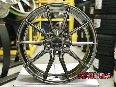 【超前輪業】美國品牌 VARRO VD20 VD-20 19吋鋁圈 5孔108 112 114.3 120 鈦色