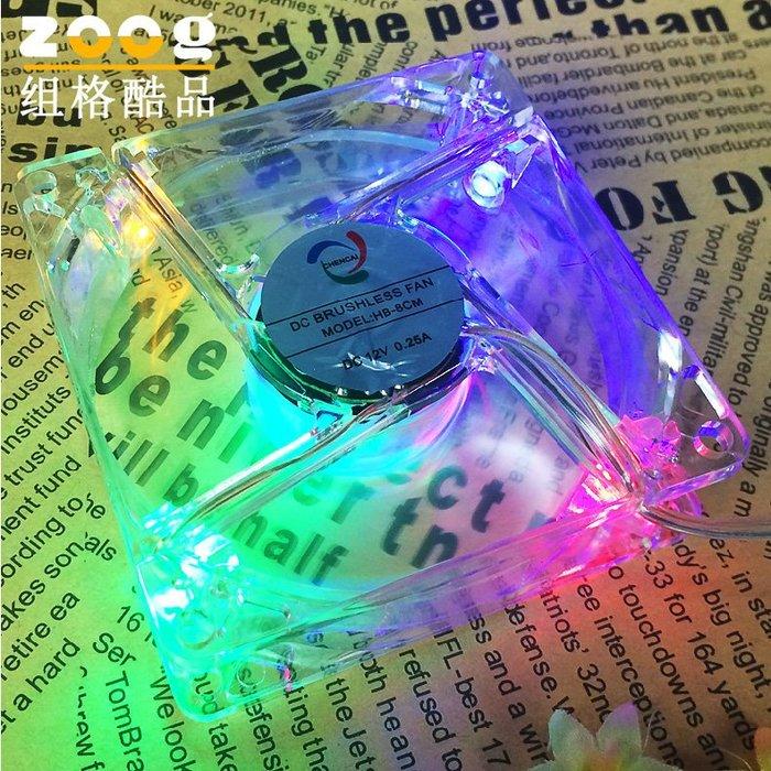 LED多色風扇 降溫促進空氣流通 倉鼠籠子用品