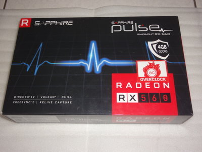 藍寶 Radeon RX-560 4G 售2800( RX460 RX470 RX560 RX570 參考