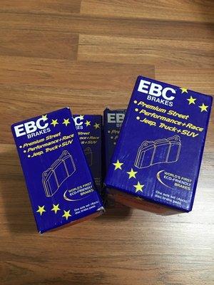 售 全新 SAAB 9-5 95 02年以後 EBC 紅皮 後面 來令片 煞車皮 現貨 不用等 可超取  DP31405 台中市
