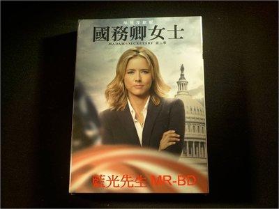 [DVD] - 國務卿女士 : 第二季 Madam Secretary 六碟精裝版 ( 得利公司貨 )
