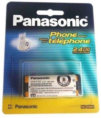 ✿國際電通✿ 【單卡裝】國際牌 Panasonic HHR-P105 原廠 無線電話系列電池 2.4V 830mA