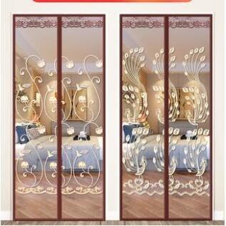 門簾魔術貼防蚊門簾高檔磁性紗門家用臥室紗窗防蠅通風夏季隔斷免打孔