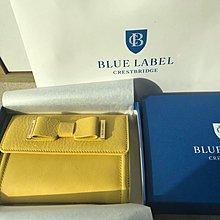 購自日本 Blue Lablel Crestbrige 真皮 銀包 日本製 連紙袋
