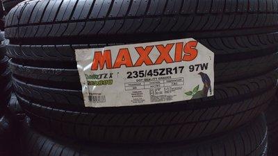 [平鎮協和輪胎]瑪吉斯MAXXIS MS800 235/45R17 235/45/17 97W台灣製裝到好