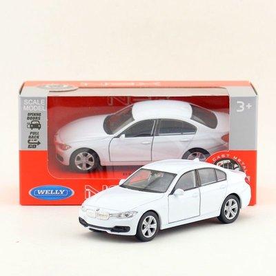 威利 正版 1:36 仿真 寶馬 BMW 3系 335i 轎車  合金 汽車模型 迴力 兒童玩具 新竹市