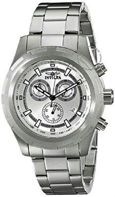 展示品 Invicta 17721 Specialty Chronograph Tachymeter Date Stainless Steel Men