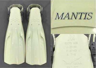GULL MANTIS 蛙鞋 M  白色