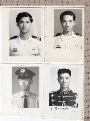《打貓堡》老照片【軍人】4張合拍(B711)
