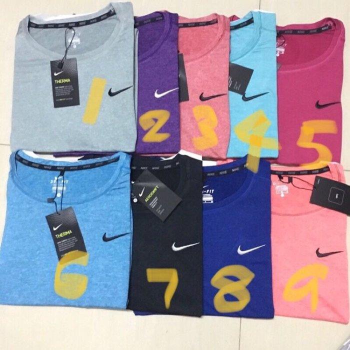 NIKE排汗合身DRI FIT運動衫 女款短袖(圓領)9色 《春夏新貨上市》