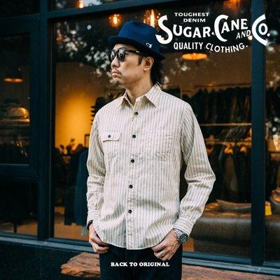 BTO 日本【SUGAR CANE】8.5oz 白色WABASH工作襯衫