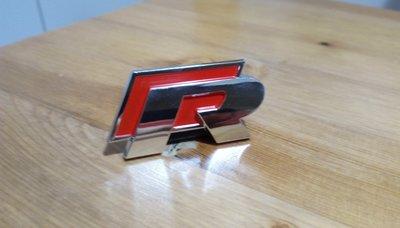 ** 福品小舖 ** 福斯 VW Golf  Polo GTI  MTM  R 改裝  貼紙 電鍍貼標 水箱 車標 車貼
