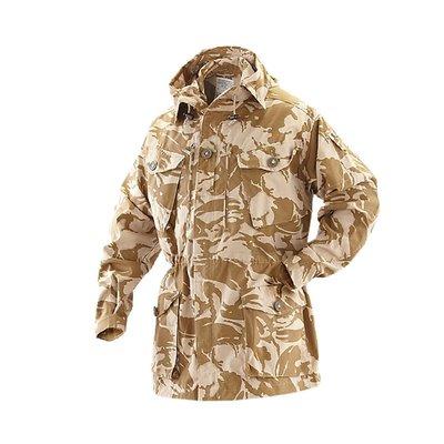 西西韓國專賣~沙漠迷彩Smock風衣軍迷戶外收腰式保暖外套男