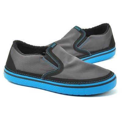 Look 鹿客 Crocs男式 拼接面休閒鞋12593-07U