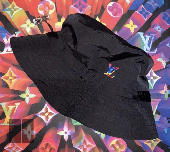 Louis Vuitton MP2552 可變形漁夫帽 黑