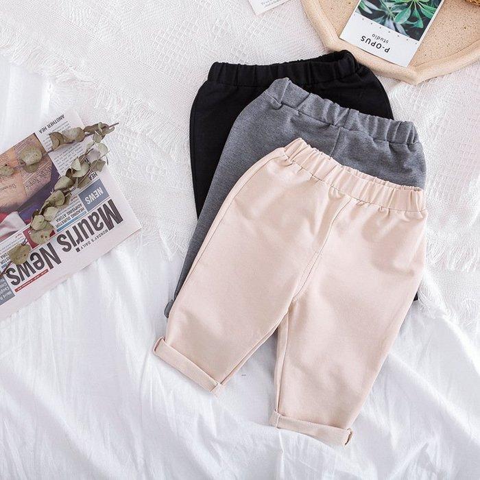 童裝   女童 褲子春秋季1-3-5歲兒童女寶寶寬松奶奶褲休閑長褲